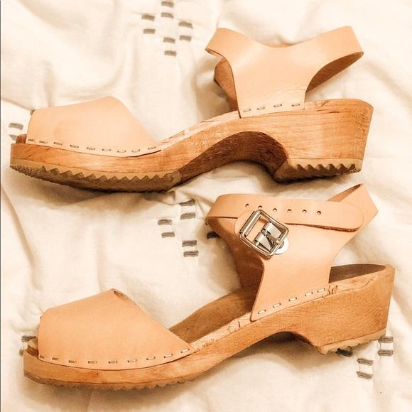46f45114ce62 Mia Shoes - MIA Anja Clog - Nude